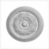 Small Floral Plaster Ceiling Rose 292mm